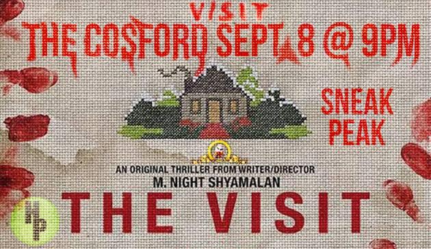 the visit sneak flyer