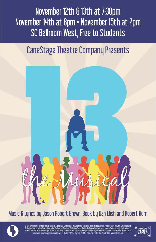 13 the Musical Poster